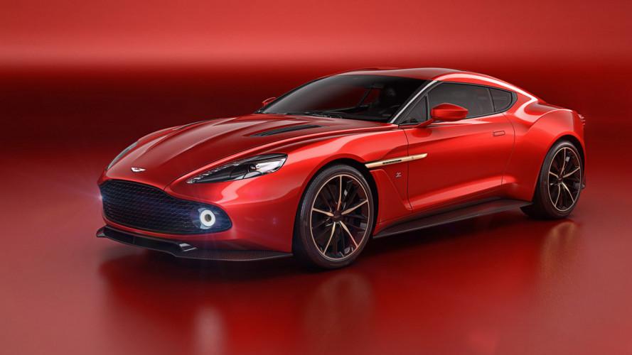 Aston Martin Vanquish Zagato Concept, anglo-italiana da urlo