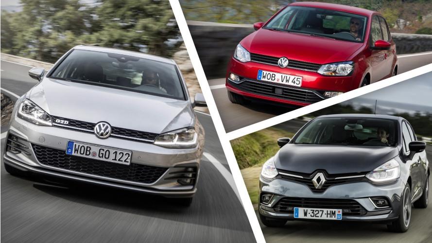 Europa, tutte le auto più vendute a metà 2017