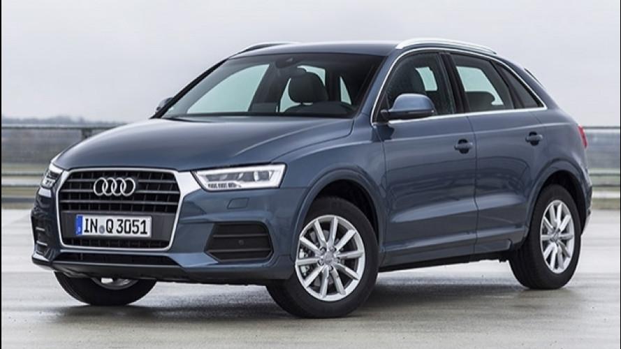 Audi Q3, si allarga l'offerta a trazione anteriore