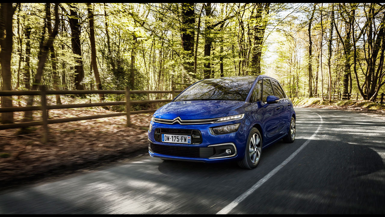 Citroen C4 Picasso restyling
