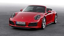 Porsche 911 Carrera 4 Cabriolet 2017 rojo