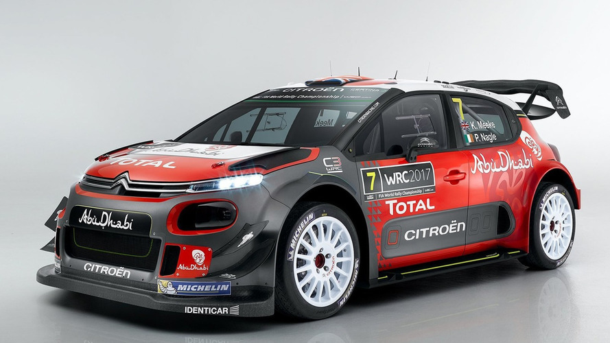 La Citroën C3 WRC 2017 affiche ses couleurs