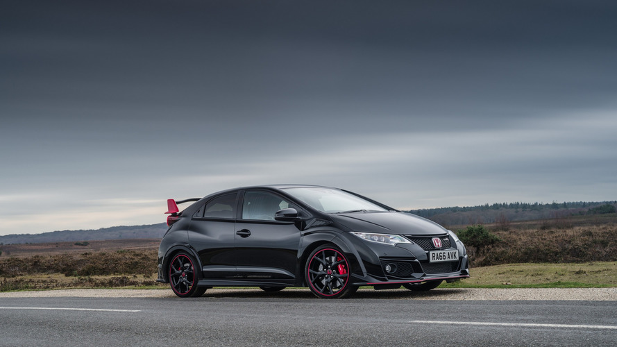 Honda Civic Type R Black Edition sings hot hatch's U.K. swan song