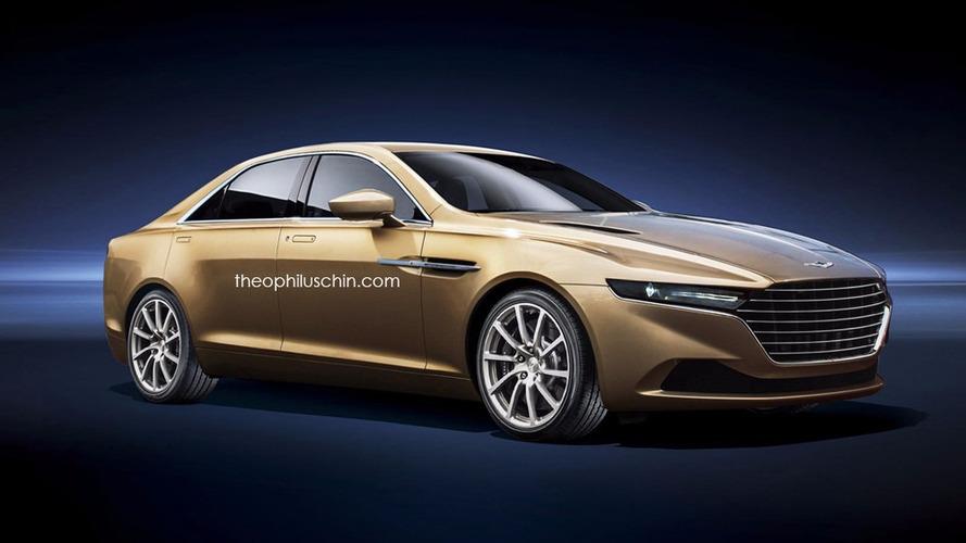Aston Martin Lagonda Taraf - Une version plus petite en images