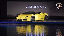 Lamborghini Huracan LP 580-2 Spyder à Los Angeles 2016
