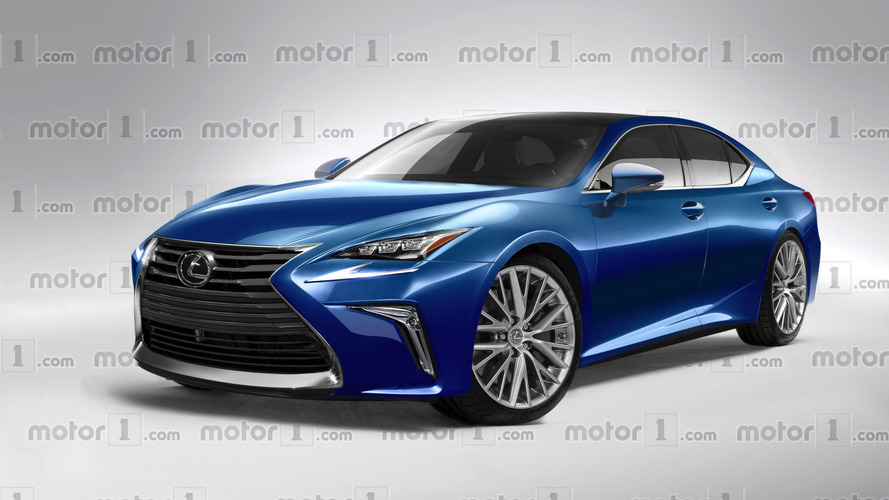 2018 Lexus LS'e ilginç tasarım yorumu