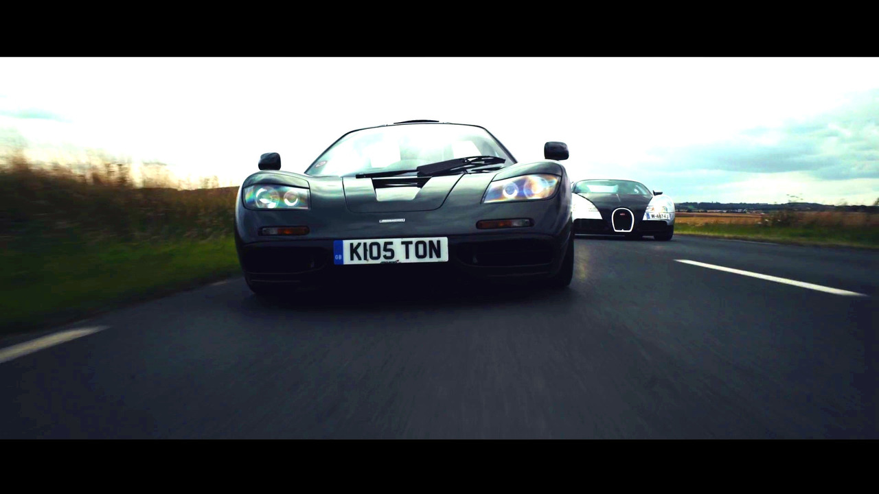 when two very different supercars meet mclaren f1 and. Black Bedroom Furniture Sets. Home Design Ideas