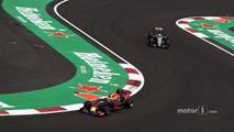 Max Verstappen, Red Bull Racing RB12, Nico Hulkenberg, Sahara Force India F1 VJM09