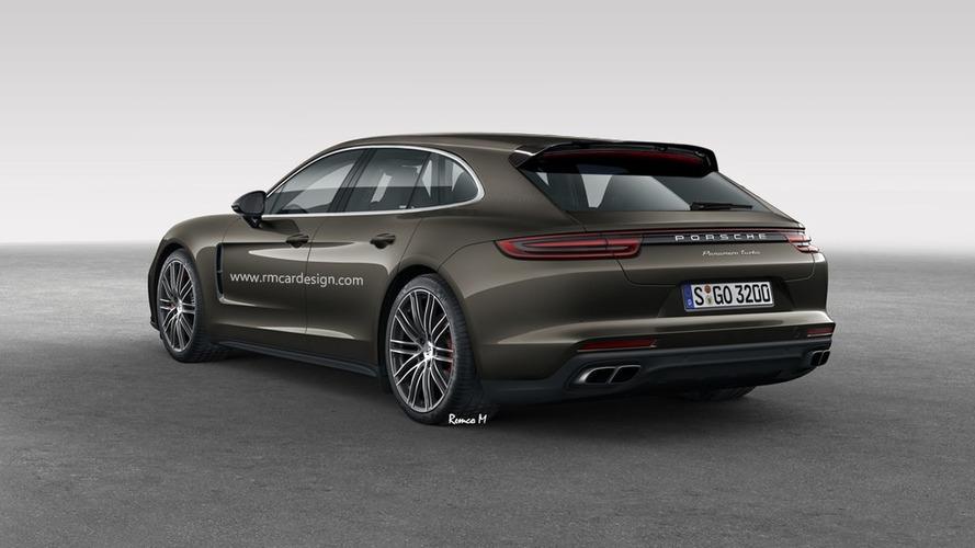 2018 Porsche Panamera Sport Turismo renders