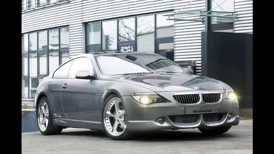 Pep für 6er und X3: BMW-Neulinge unterm Schnitzer-Messer
