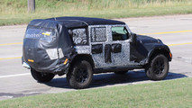 Jeep Wrangler 2018, fotos espía