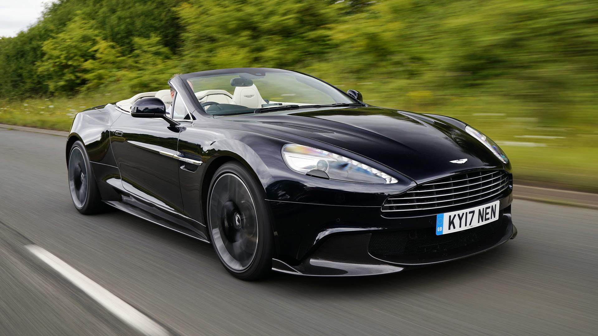 2018 aston martin vanquish s volante first drive the final encore. Black Bedroom Furniture Sets. Home Design Ideas