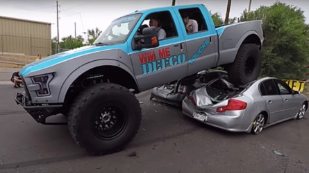 This Ford F-350 Mega Raptor Makes All Other Raptors Look Cute