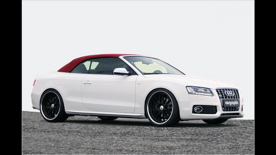Haste Töne: Cargraphic veredelt das Audi S5 Cabrio