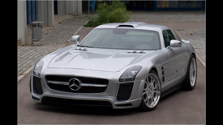 Über 600 PS: Mercedes SLS AMG von FAB Design