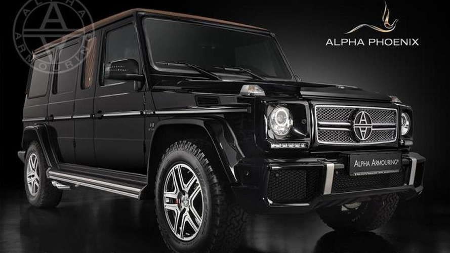 Alpha Phoenix unveiled, based on the Mercedes G63 AMG