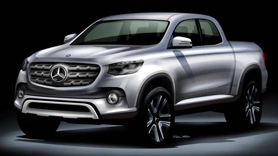 Le futur pick-up Mercedes ne sera pas commercialisé en Amérique du Nord