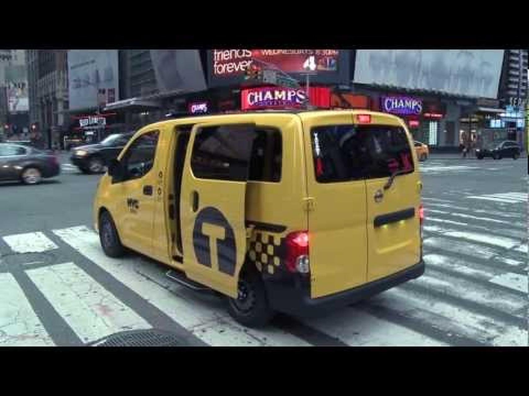 2014 Nissan NV200 Taxi of Tomorrow