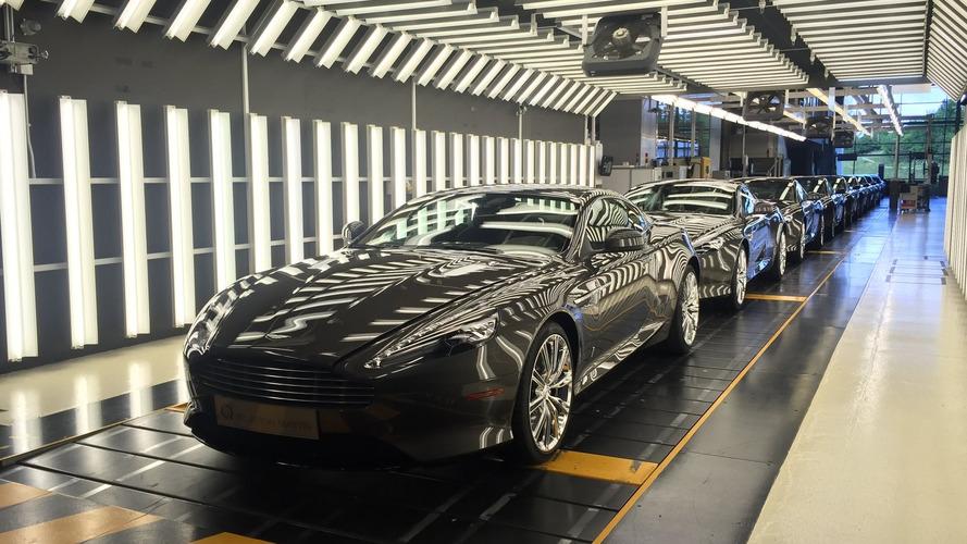 Son dokuz adet DB9 üretilmeyi bekliyor