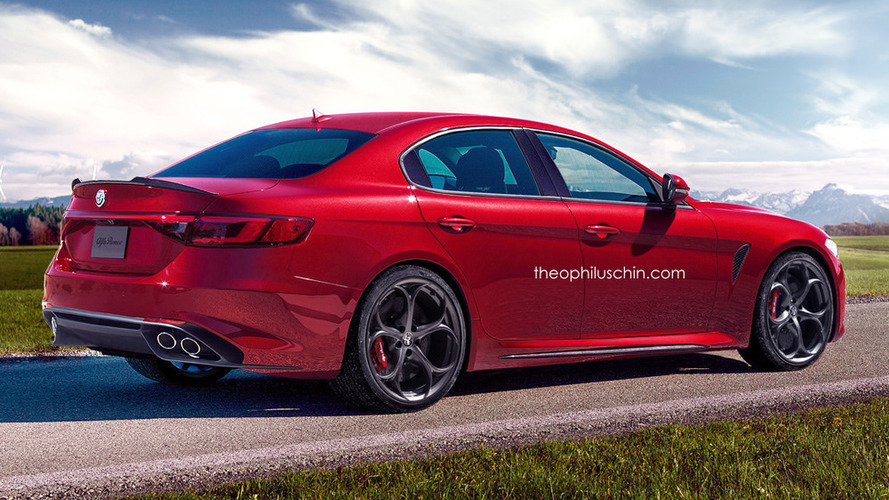 Alfa Romeo's BMW 5 Series rival coming in 2018 with V6 diesel