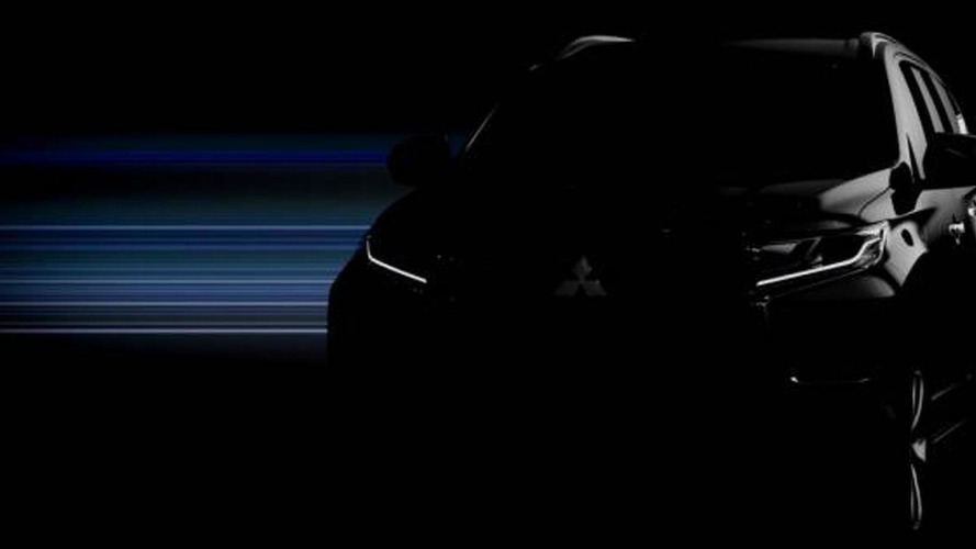 2016 Mitsubishi Pajero Sport / Challenger teased ahead of August 1 reveal