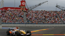 Fernando Alonso, European Grand Prix, Valencia, Spain, Qualifying 23.08.2008