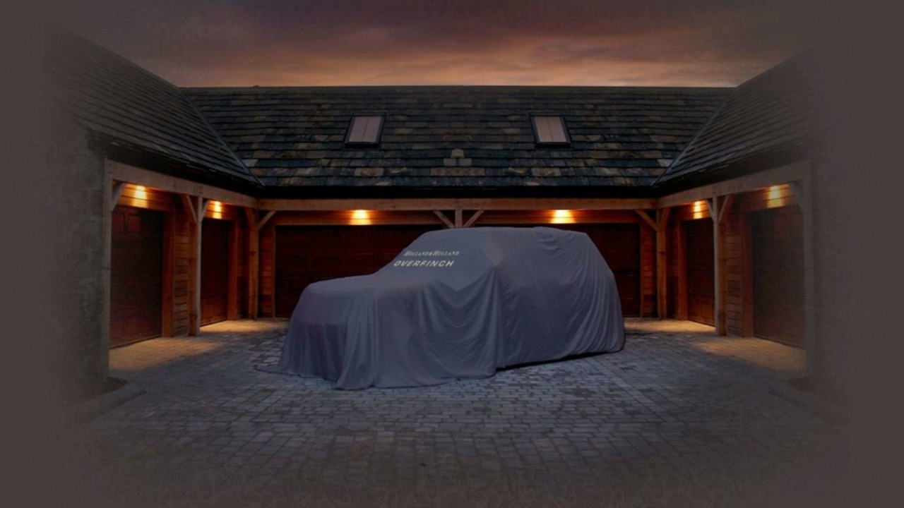 Overfinch Holland & Holland Range Rover teasers