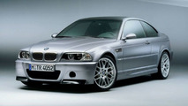 BMW M3 CSL production model