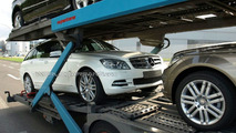 2011 Mercedes-Benz C-Class Facelift First Spy Photos