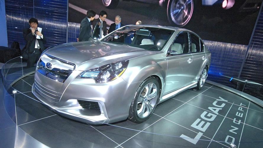 Subaru Legacy Concept Front Details Revealed