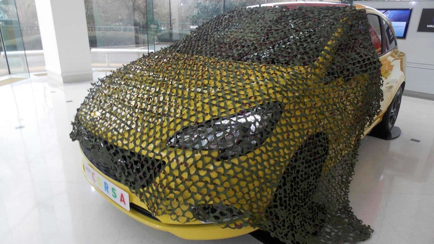 2015 Vauxhall Corsa now available with an optional… camouflage net