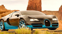 Bugatti Veyron Grand Sport Vitesse for Transformers 4 29.5.2013