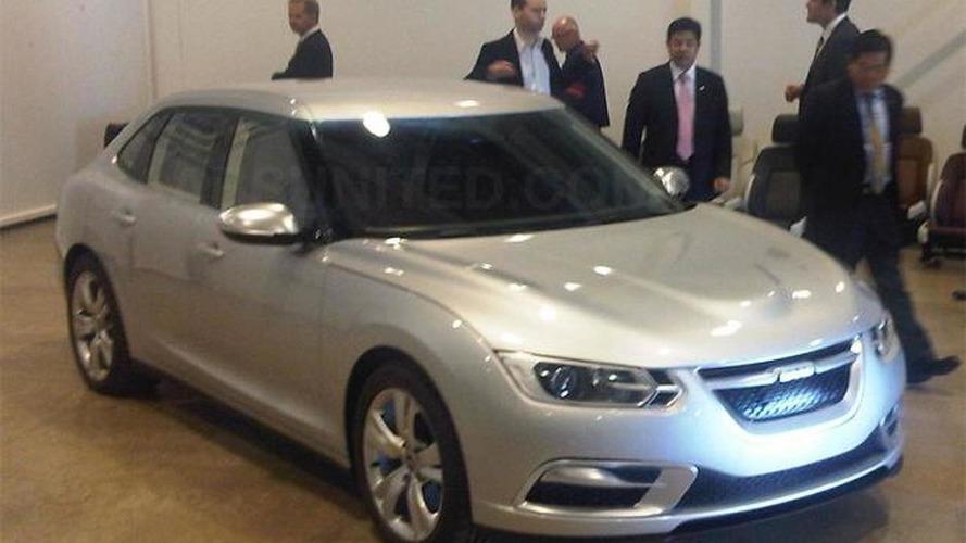 Stillborn 2013 Saab 9-3 shows it face
