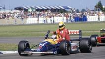 Nigel Mansell, Williams FW14, Ayrton Senna, McLaren MP4/6