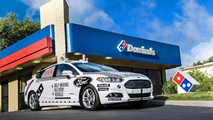 Domino's Pizza otonom Ford Fusion