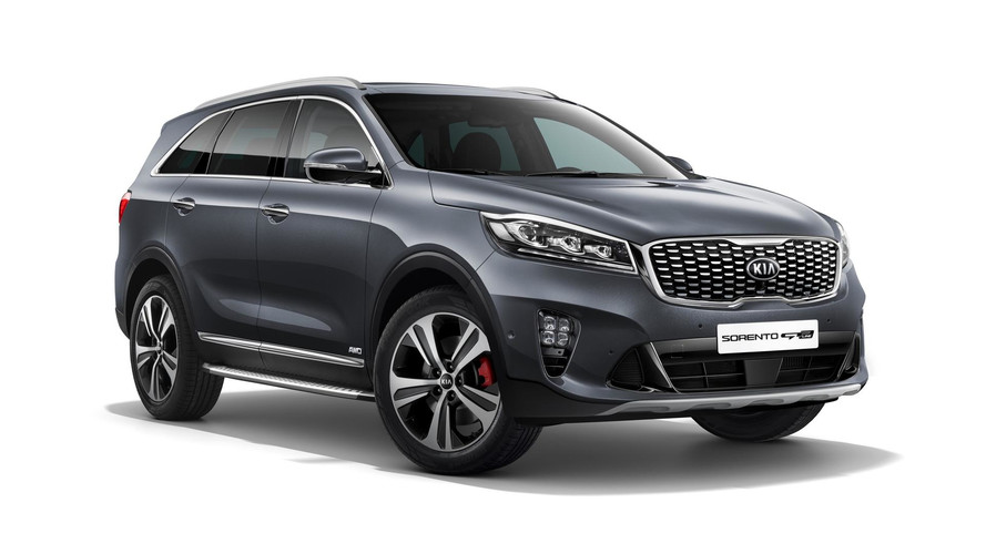 2018 Kia Sorento Facelift Dressed In Euro Clothing For Frankfurt
