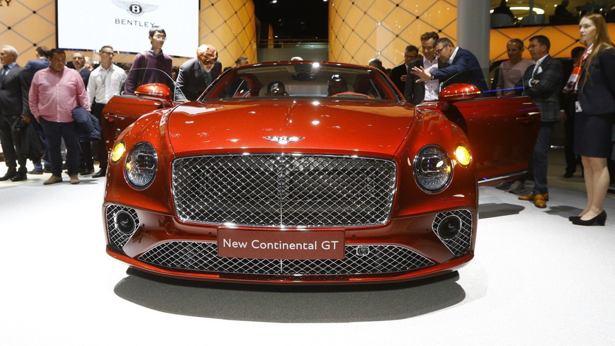 2018 Bentley Continental GT