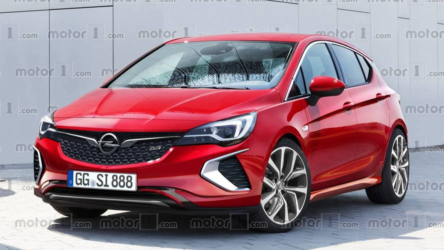 2018 Vauxhall Astra GSi will probably look like this