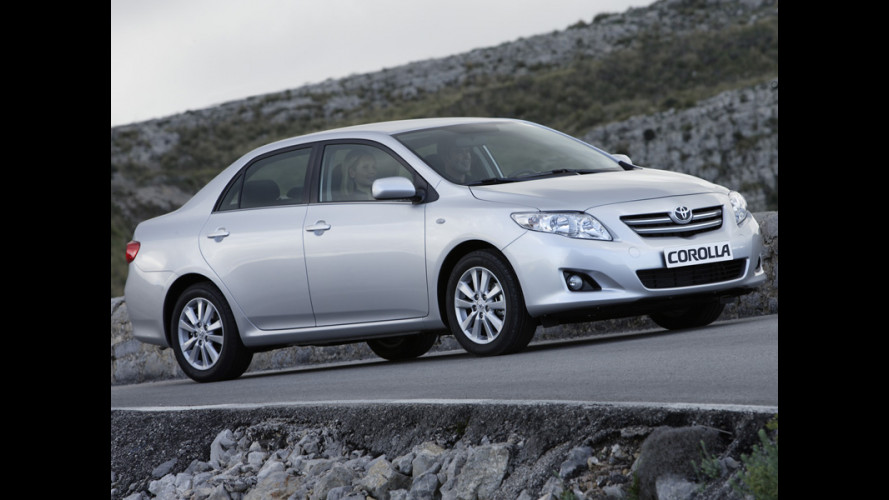 4 porte per la Nuova Toyota Corolla