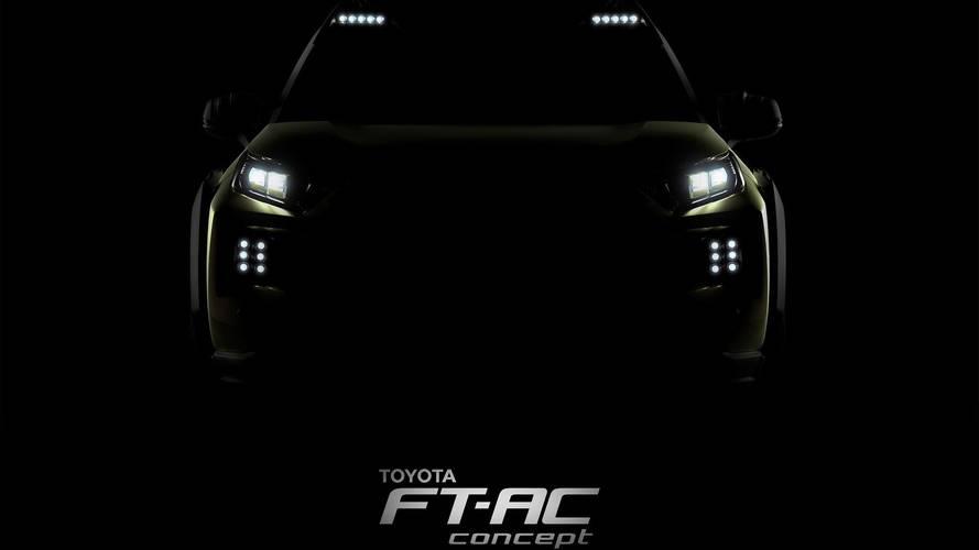 Toyota mostra teaser do SUV FT-AC, que estreará em Los Angeles
