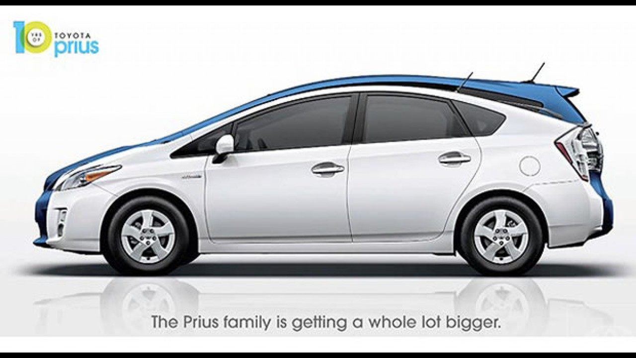 Toyota fará uma minivan derivada do Prius