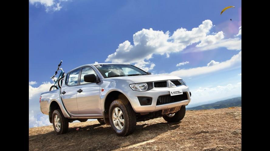 Mitsubishi lança linha 2012 com nova versão L200 Triton XB