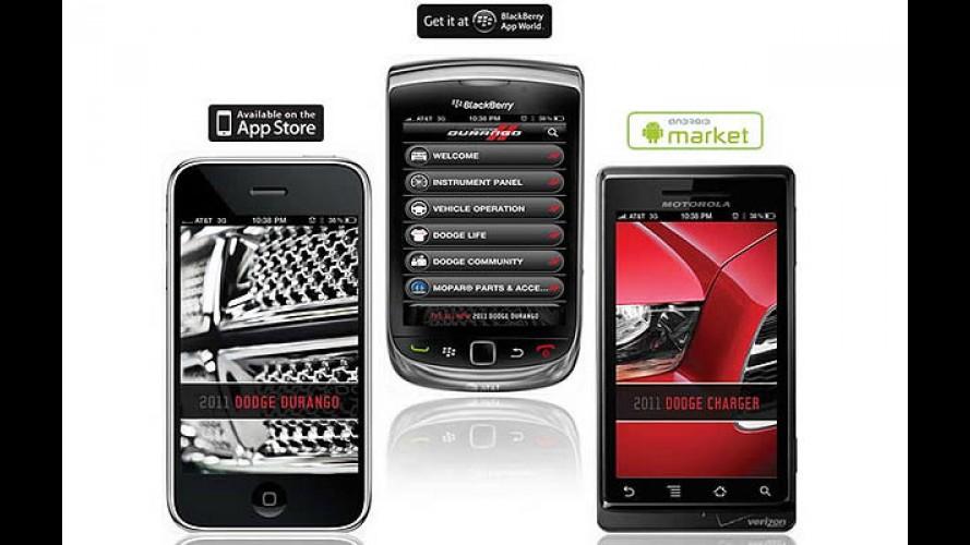 Dodge lança aplicativo para smartphones
