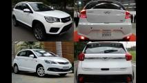 Flagra: futuro brasileiro, Chery Tiggo 3X é o novo SUV baseado no Celer