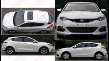 Considerado o mais belo carro chinês já fabricado, Changan Eado é flagrado sem disfarces