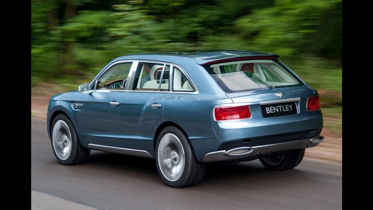 Bentley Falcon já recebeu luz verde para produção em série, afirma jornal alemão
