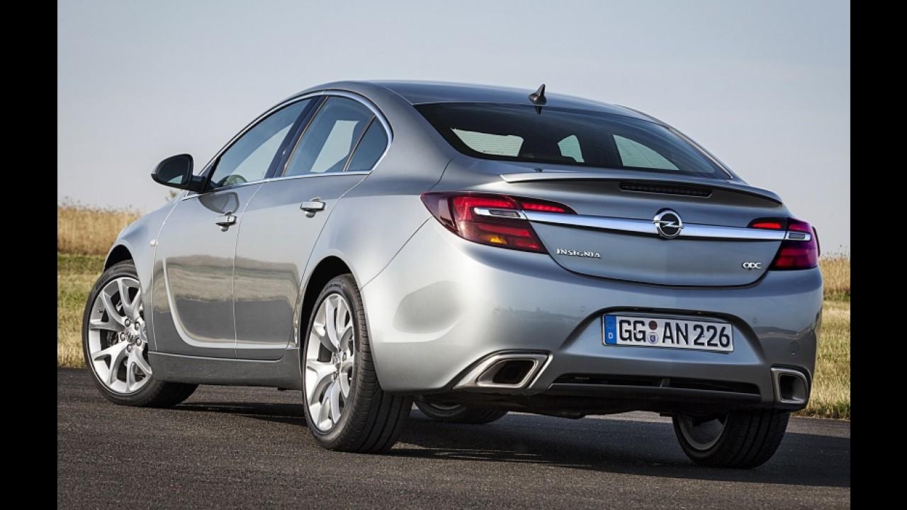 Sucesso: Opel Insignia reestilizado acumula mais de 100 mil pedidos