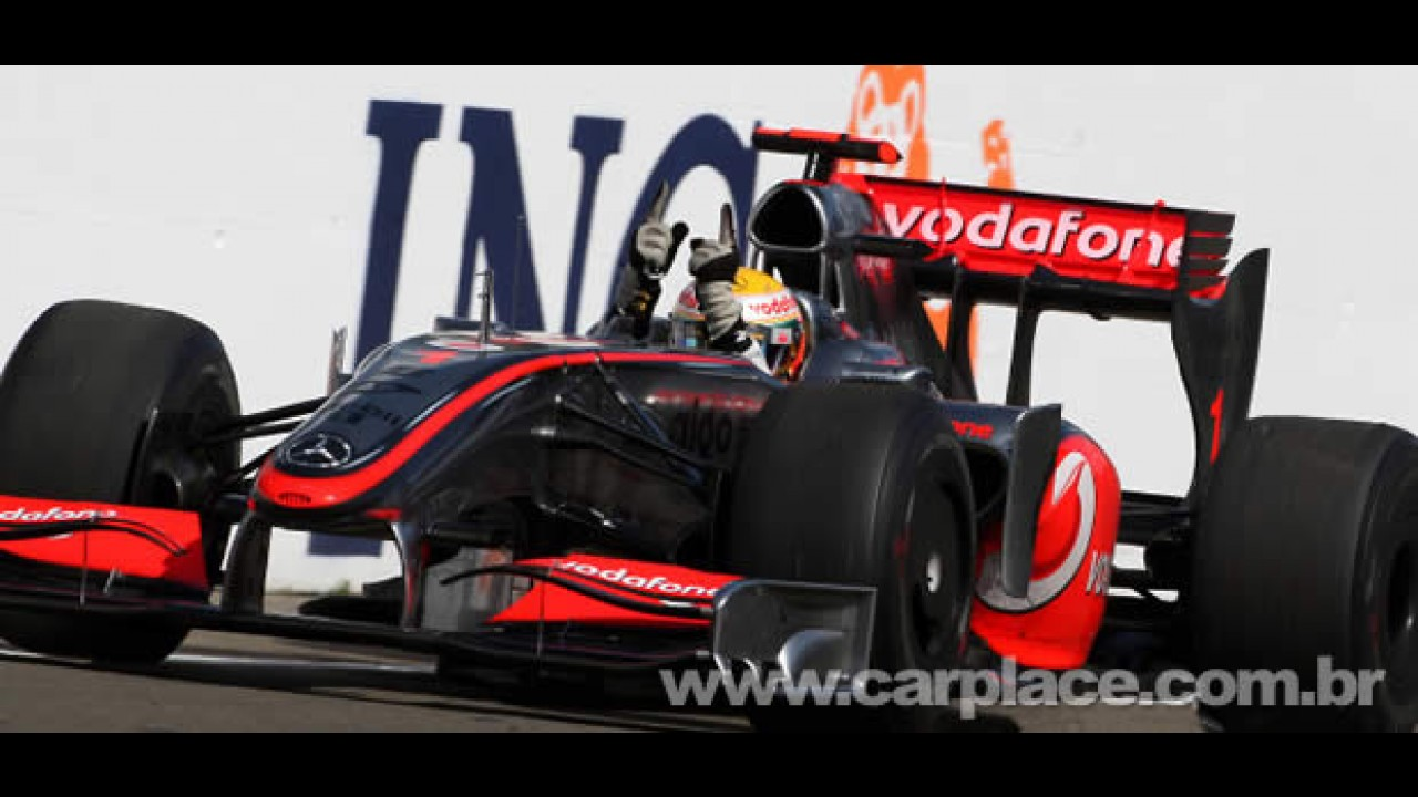 Hamilton faz a pole em Abu Dhabi - Veja galeria de fotos do novo autódromo