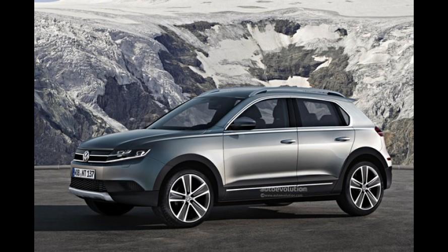 Volkswagen pode estar desenvolvendo SUV baseado na plataforma do Polo