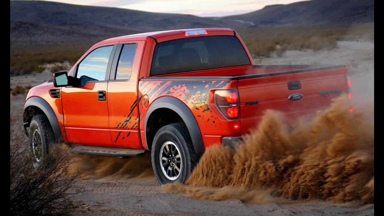 Ford apresentará nova geração da F-150 Raptor no Salão de Detroit